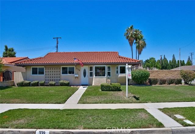 339 E Cliffwood Avenue, Anaheim, CA 92802