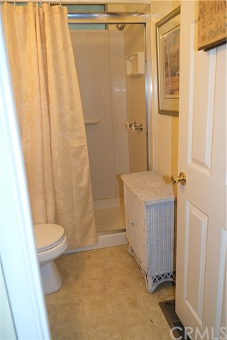 2nd Bathroom with full shower (no tub)