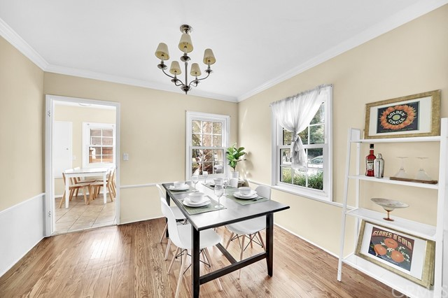 Dining with access to kitchen and living room