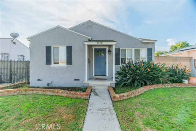 1320 W 34th Street, Long Beach, CA 90810