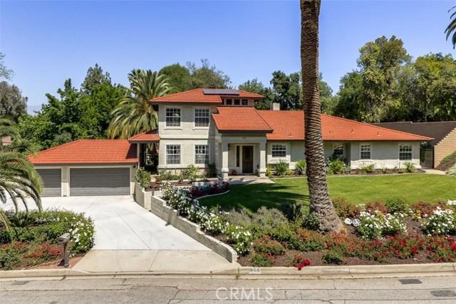 805 Sunnyside Avenue, Redlands, CA 92373