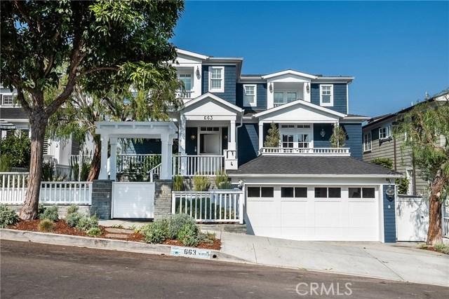 663 18th Street, Manhattan Beach, California 90266, 5 Bedrooms Bedrooms, ,5 BathroomsBathrooms,For Sale,18th,SB19262147