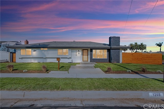 This property checks off all the boxes on your wishlist. First time on the market since it was initially sold in 1965, this spectacular single level ranch style modern home sits on a highly coveted flat corner lot that's close to 9k sq ft. The nearly 1900 sq ft of living space has been tastefully remodeled to the 10's, 4 bedrooms and 2 baths. The impressive curb appeal of the front yard has brand new sprinkler system with fresh brand new planted grass. An impressive modern door leads to the inside of the property with an open concept. New luxury vinyl wide planks through out. New paint, new baseboards throughout and tastefully painted with designer colors. New recessed lights new windows and beautiful shaker style doors in all rooms with all matching hardware. The kitchen has been tastefully remodeled with brand new cabinets and an expansive kitchen with a waterfall peninsula, wine fridge and top of the line appliances. Nice and opened with living room space on both sides of the kitchen to host great family fiestas. The property has two yards on one side it has a beautiful brand new wood plank fence and an even larger back yard that all flows into the living rooms space. Enjoy the cool evenings over the fire and let your guest play in the grass area. There are unobstructed views of the hills from the back yard. New HVAC system and also a media center area for all the little ones. Walking distance to the park and top rated schools. The small HOA fee includes access to a community pool.