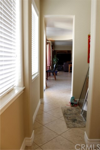 Hallway from Kitchen to 2nd Master and guest bath