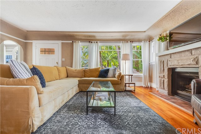 924 N. Olive Street- Living Room