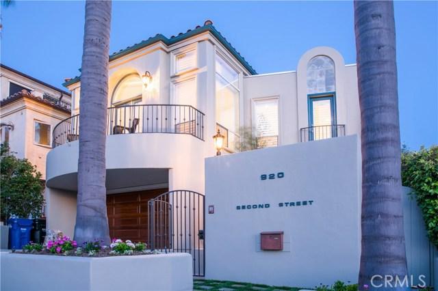 920 2nd Street, Hermosa Beach, California 90254, 4 Bedrooms Bedrooms, ,3 BathroomsBathrooms,For Rent,2nd,SB19187046