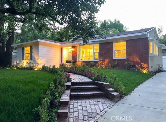 1283 Afton Street, Pasadena, CA 91103