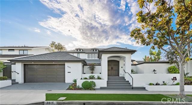 2615 Alta Vista Drive, Newport Beach, CA 92660