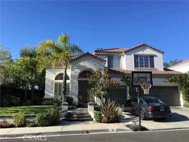 12 Las Plumas, Rancho Santa Margarita, CA 92688