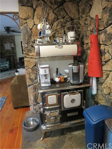Old fashioned cooking stove