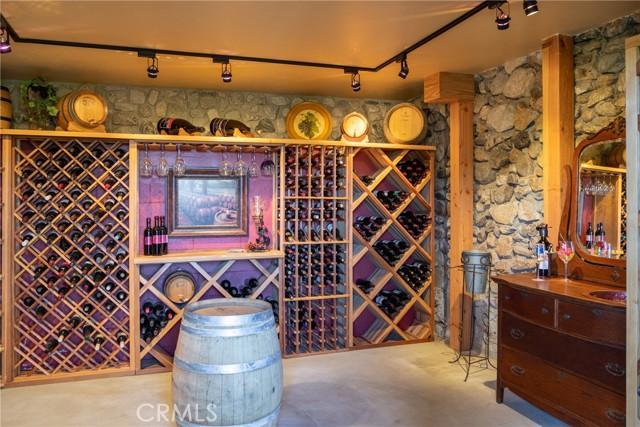 Wine Cellar located next to laundry room/ master bathroom