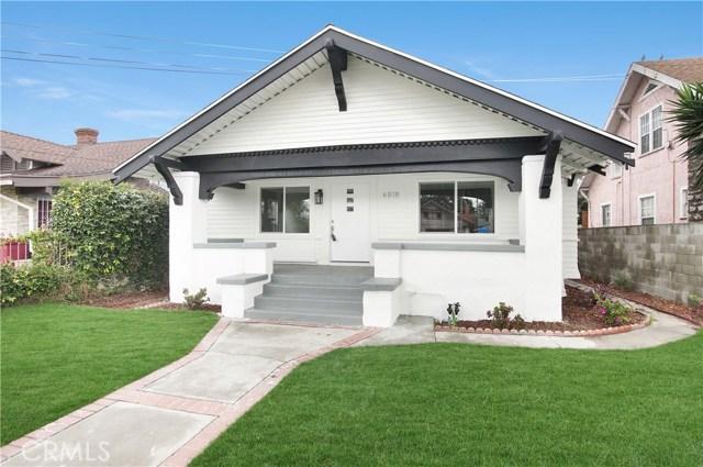 4818 S Budlong Avenue, Los Angeles, CA 90037