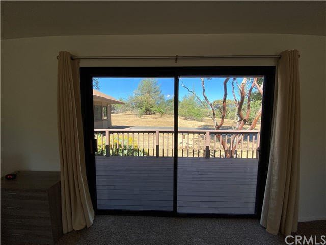 Nice deck situated off Master Bedroom