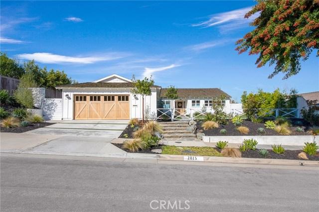 2815 Cassia Street | Eastbluff - Macco (EBMO) | Newport Beach CA