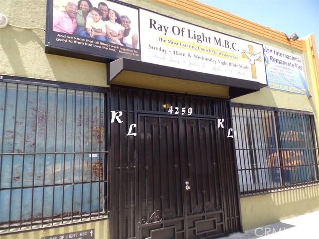 4259 S Western Avenue, Los Angeles, CA 90062