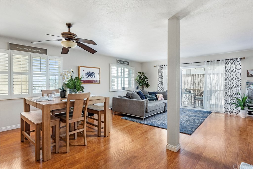 Great space for entertaining or just enjoying the day-to-day.