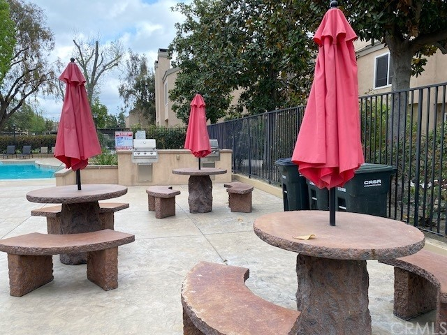 Community BBQ and Picnic Tables