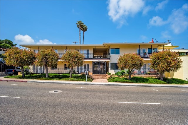 This trophy property set in iconic Laguna Beach underwent extensive renovations in 2019.  Six of eight units have views of the Pacific Ocean, and all units have access to a spacious brick-paved courtyard for comfortable outdoor space.  Units feature double-door entries, balconies, in-unit laundry, and assigned covered parking.  Tenants enjoy being within walking distance of Main Beach Village, Heisler Park, and Crescent Bay Beach.  This building is very attractive for renters seeking the Coastal lifestyle. With two 2-bed/2-bath and six 1-bed/1-bath apartments, plus assigned covered parking spaces, it's a perfect fit for Laguna's strong rental market.  Turn-key with great tenants, 1570 N Coast Hwy is truly a set-it-and-forget-it investment for the longterm. All details provided deemed accurate but not guaranteed, Buyer to verify. See virtual tour link for aerial video.