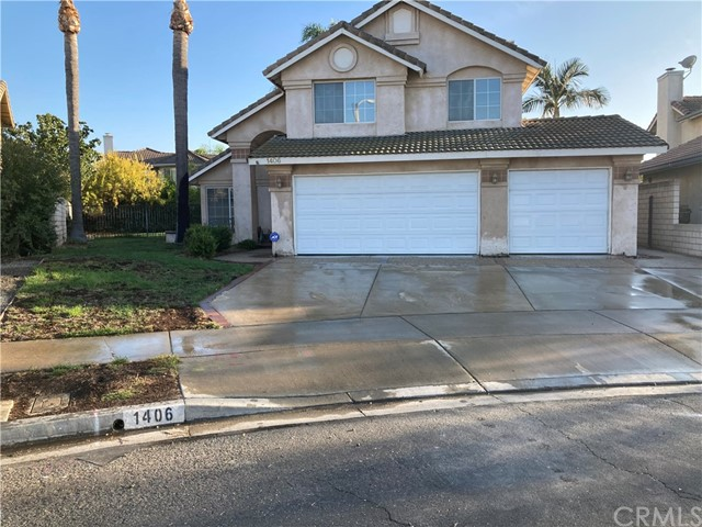 This home in a great neighborhood just steps from Champions Sports Park is priced well below market for you to put your own touches on it! A nice welcoming front yard greets you with a porch to sit out front, and a large side yard. It has had a complete re-pipe with a 10 year guarantee and new paint inside, and has dual paned windows. A wonderful floorplan with a formal living and dining room, family room open to kitchen and nook, downstairs guest bath and inside laundry room. The kitchen and nook are perfectly situated looking out over the pool and yard so you can watch the kids in the pool and enjoy the views of the backyard. The backyard has a wonderful pool, a built in BBQ, and even more grass area for playing or possible RV or boat. The upstairs has 2 roomy bedrooms and a hall bath with a tub, and the main bedroom is spacious with a walk in closet and a separate shower and tub and dual sinks in the attached bath. This home is just waiting for the next family to come enjoy it! Great schools and walking distance to parks, restaurants and stores.