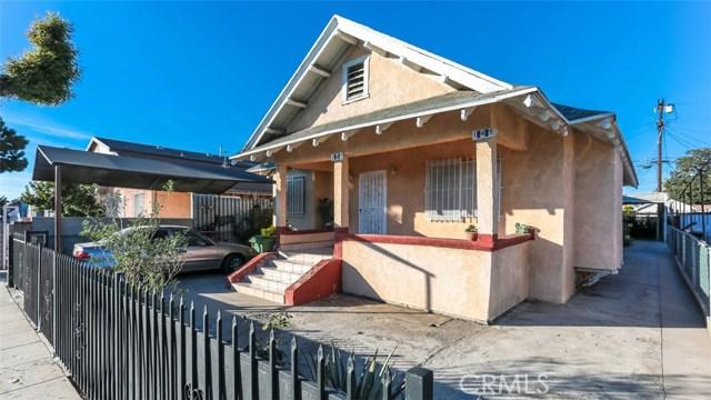 145 W 71st Street, Los Angeles, CA 90003