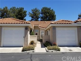 Located in the premier guard gated senior community of Palmia. Awesome one story featuring 2 bedroom, 2 bath. Open kitchen with eat in area. Large living/dining room with gas fireplace. Master bedroom has ceiling fan, sliding door to rear patio, walk in closet, no threshold shower for easy access. Two Car Garage. Peaceful Patio with beautiful flowers and rose bushes and Wood Patio Cover. The Courts homes have their own Pool & Spa in addition to the Main Clubhouse featuring Pool, Spa, 18-hole Putting Green, Tennis Courts, Bocce, Shuffleboard, Fitness Room, Library, Card rooms, Clubs, Group Excursions, etc. Palmia Residents are also HOA members to Mission Viejo Lake where you can enjoy the beach, picnicking, boating, fishing and summer concerts. Washer and Dryer included.