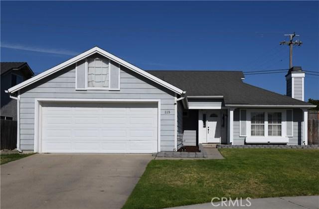 115 Cain Drive, Santa Maria, CA 93455