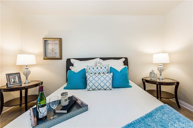 The master bedroom is the perfect space to unwind!