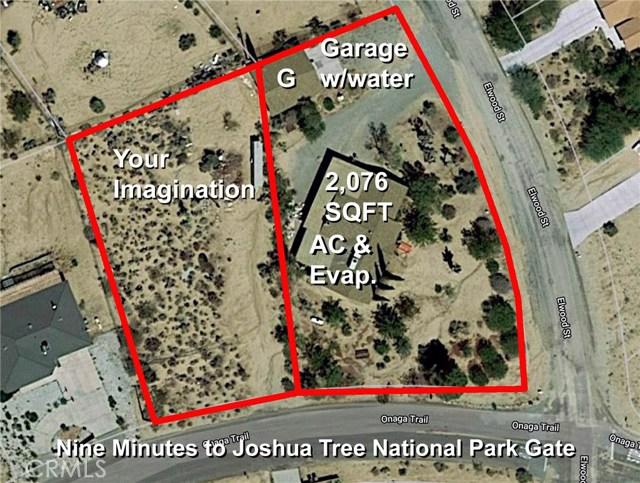 61786 Onaga, Joshua Tree, CA 92252