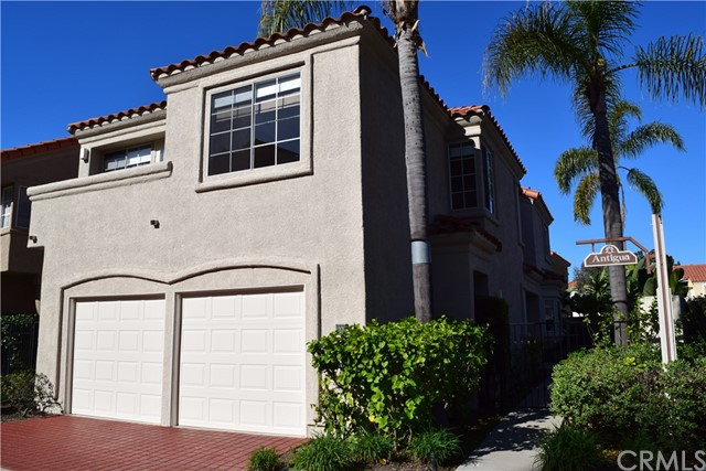 """Exceptional opportunity to lease in guard gated """"Antigua"""" community of Monarch Beach! Rare corner lot location with a peaceful and lovely landscaped private rear yard! Upgraded throughout including Travertine floors, updated kitchen, custom light fixtures, and all new carpet throughout! Dining area is open to the back yard, so this is perfect for entertaining! Enjoy a cozy fireplace in the living room, and even better, enjoy great views from the balconies that are on every bedroom!! This home is light and bright, has an open and spacious floor plan with vaulted ceilings and a great layout with all bedrooms upstairs! 2 car attached garage with direct access, and the washer/dryer hookups are conveniently located in the garage as well. Walking distance to Salt Creek Beach, the Ritz Carlton and Waldorf Astoria as well as Dana Point Harbor! Enjoy living """"the life"""" in Monarch Beach!! Don't miss this one!"""