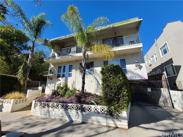 Prime West Hollywood Location. 10-unit building located on a quiet street one block north of Santa Monica Blvd, two blocks south of Sunset Blvd and west of Crescent Heights. Desirable mixture of one, two and three bedroom units. Priced at $348,800 per unit and $354 per square foot. Most units are rented below market rent. 15 parking spaces located in a partially open subterranean garage with automatic security gate. On-site laundry machines available to tenants. Units are separately metered for electric, gas. Zone R4B - 45' 4 Stories - 1 du/872 SF of lot area.