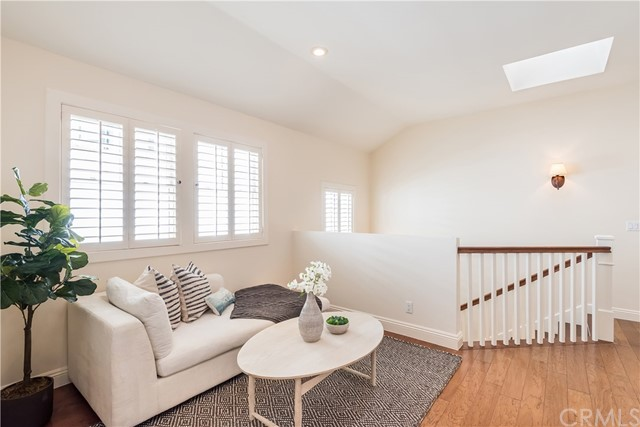 Skylights and Plantation Shutters Throughout