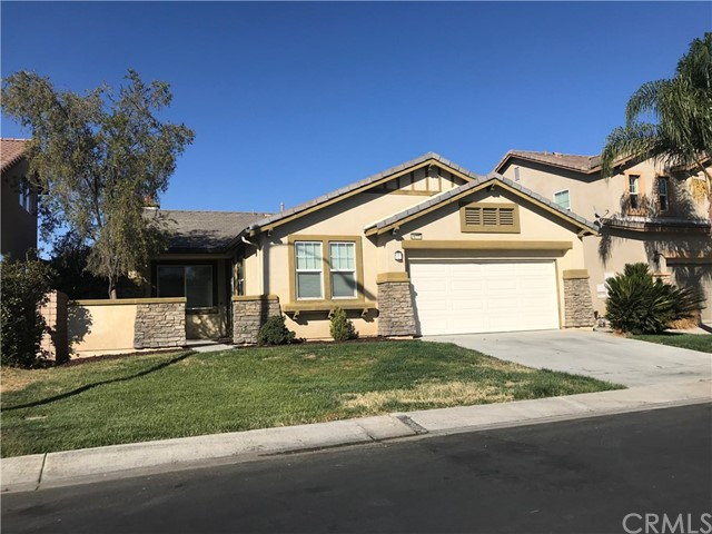 Beautiful single story in the gated community of Tierra Shores! 3 bedroom, 2 bath with a 2 car garage.  Neutral flooring and paint throughout, upgraded cabinets with granite counters, center island in the kitchen, plenty of storage and counter space. Family room is a nice size and has a fireplace. Inside laundry room complete with a washer and dryer with counter/cabinets so plenty of storage. 2 of the bedrooms have walk-in closets, master bath has 2 sinks and a separate tub and shower. Master is in the back of the house and 2 other bedrooms in the front. Backyard has a patio and is open behind but is a blank canvas. Community features parks, a lake, and other water activities. Parks close-by with a basketball court and picnic tables. Separate RV storage for additional price.