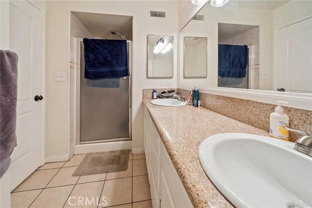 Unit B: Master Bathroom with dual sinks