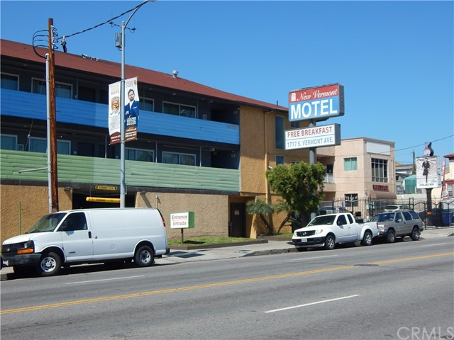 Located in the heart of downtown Los Angeles, New Vermont Hotel is a great commercial opportunity for investors. New Vermont Hotel boasts a 3 story commercial building, 24 parking spaces, and 42 rooms. The property is conveniently located less than 10 minutes from all the major Los Angeles destinations; including Staples Center, LA convention center, USC and Korea Town. Most importantly, this property is right in the heart of Downtown Los Angeles. Walking distance to famous places such as Art District and Fashion District; as well as, many luxury dineries.  Convenient location, trendy stores and profitable opportunities make this property an exceptional investment.