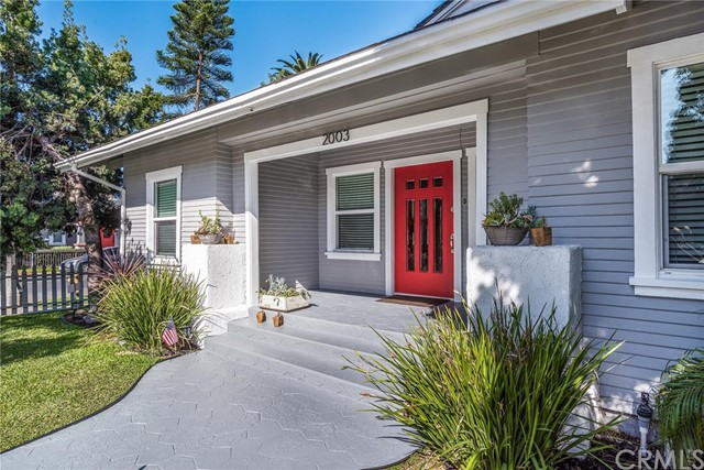 """Welcome to 2003 Florida Street. You will love this cute 1919 bungalow, Two bed Two bath Plus an Office or 3rd bedroom. 1,193 sqft on a 3407 sqft corner lot. One car garage plus Two more parking spaces. Gorgeous inside, Original Hardwood floors, all the bathrooms and the kitchen have been updated to the same old world charm, with the new world amenities. Laundry in the kitchen, Super efficient Central Air and Heat, new copper plumbing and updated Electrical. Large patio area great for entertaining. Close to Retro Row and all of the excitement!!  Nearby is Carroll Park, Bixby Park, Bluff Park. All this and just blocks away from restaurants, shops and entertainment, and the Pacific Ocean! This is the perfect location between Los Angeles and Orange County to enjoy the cool cool Pacific Ocean breezes and the small town feel of """"Retro Row"""""""