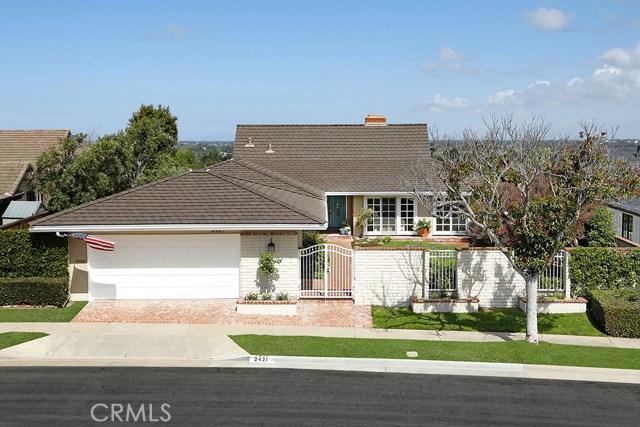 2421 Buckeye Street | Eastbluff - Lusk (EBLK) | Newport Beach CA