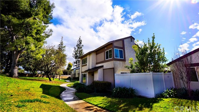 PRICE REDUCTION!  MOTIVAED SELLERS! SOUGHT-AFTER SUNNY HILLS COMMUNITY! - The largest floor plan in this community - Detached meaning NO SHARED WALLS!  Beautifully remodeled home in a great community with total privacy.  The home has been updated with new carpet, paint, granite counters in kitchen, new kitchen appliances, faux wood flooring in kitchen, dining area and half bath downstairs, crown molding throughout, dual French front doors, both baths upstairs have new tile flooring and a new vanity has been installed in upstairs hall bath. Double pane high efficiency windows have been installed throughout with sliding doors at the dining area leading to a lovely private patio perfect for summertime BBQs. It faces a park-like green belt perfect for families! Association dues include water and trash and access to a beautiful community pool.  Newer HVAC system installed.  Call to get your private showing today!