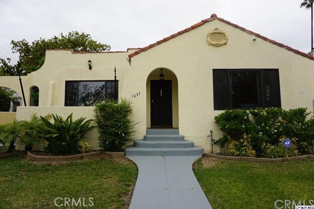 1637 W Kenneth Road, Glendale, CA 91201
