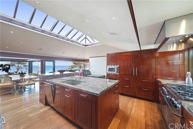Photo of a kitchen in Laguna Beach
