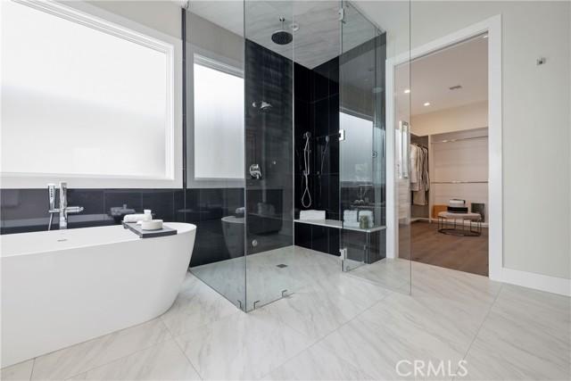 Spa-like Master bathroom with steam shower