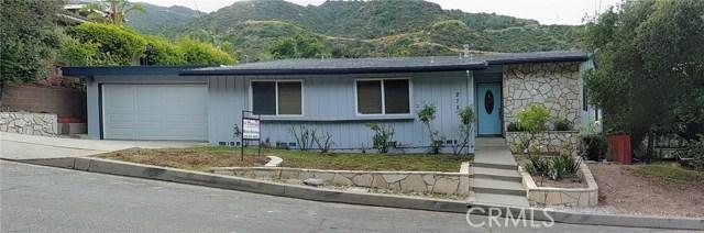 275 Mesa Lila Road, Glendale, CA 91208