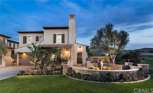 """Enjoy one of the """"Crown Jewel"""" estate homes on a cul-de-sac at the top of Quail Hill on one of Irvine's highest points with remarkable 270 degree city lights and canyon views! This gorgeous 5 Bedroom 