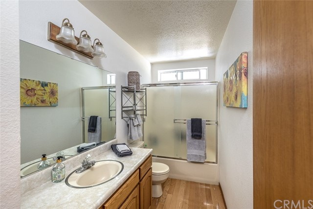 Main level guest bathroom.