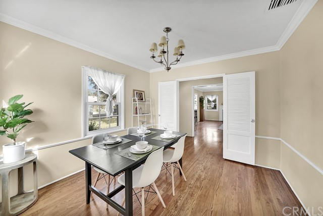 separate Dining and Kitchen eating areas