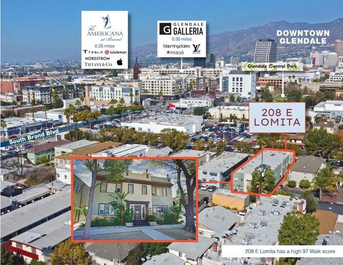 Photo of 208 E Lomita Avenue, Glendale, CA 91205