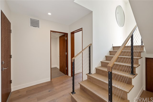 Inviting foyer with modern flair