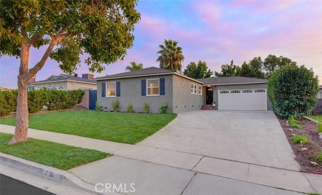 648 Pepperwood Drive, Brea, CA 92821
