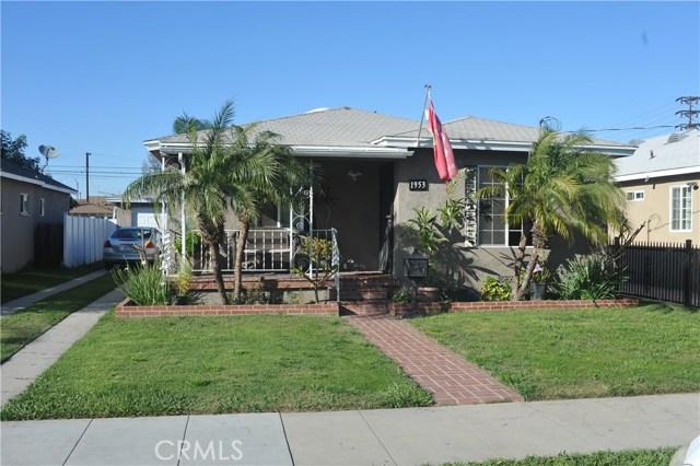 1953 E 53rd Street, Long Beach, CA 90805