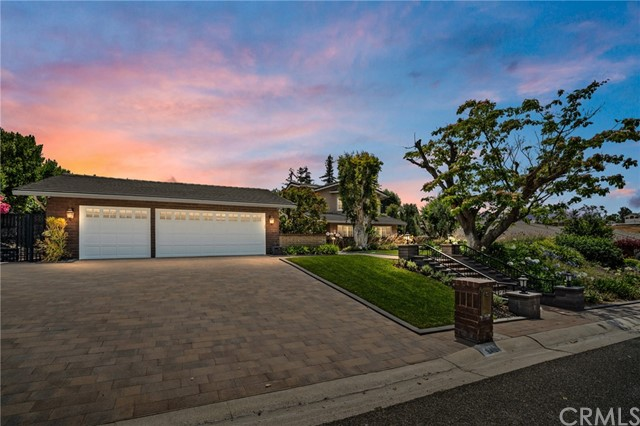 Sprawling estate on a coveted street in the hills of Villa Park. More details and information to follow.