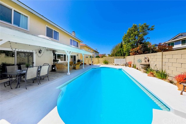 A sparkling pool for upcoming summertime fun!